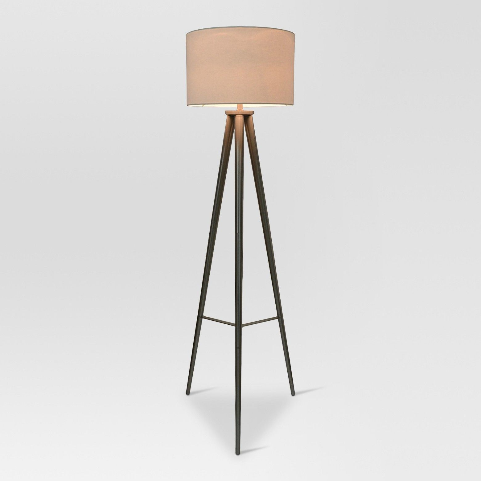 Delavan Metal Tripod Floor Lamp Brass Lamp Only Project 62 pertaining to dimensions 1560 X 1560