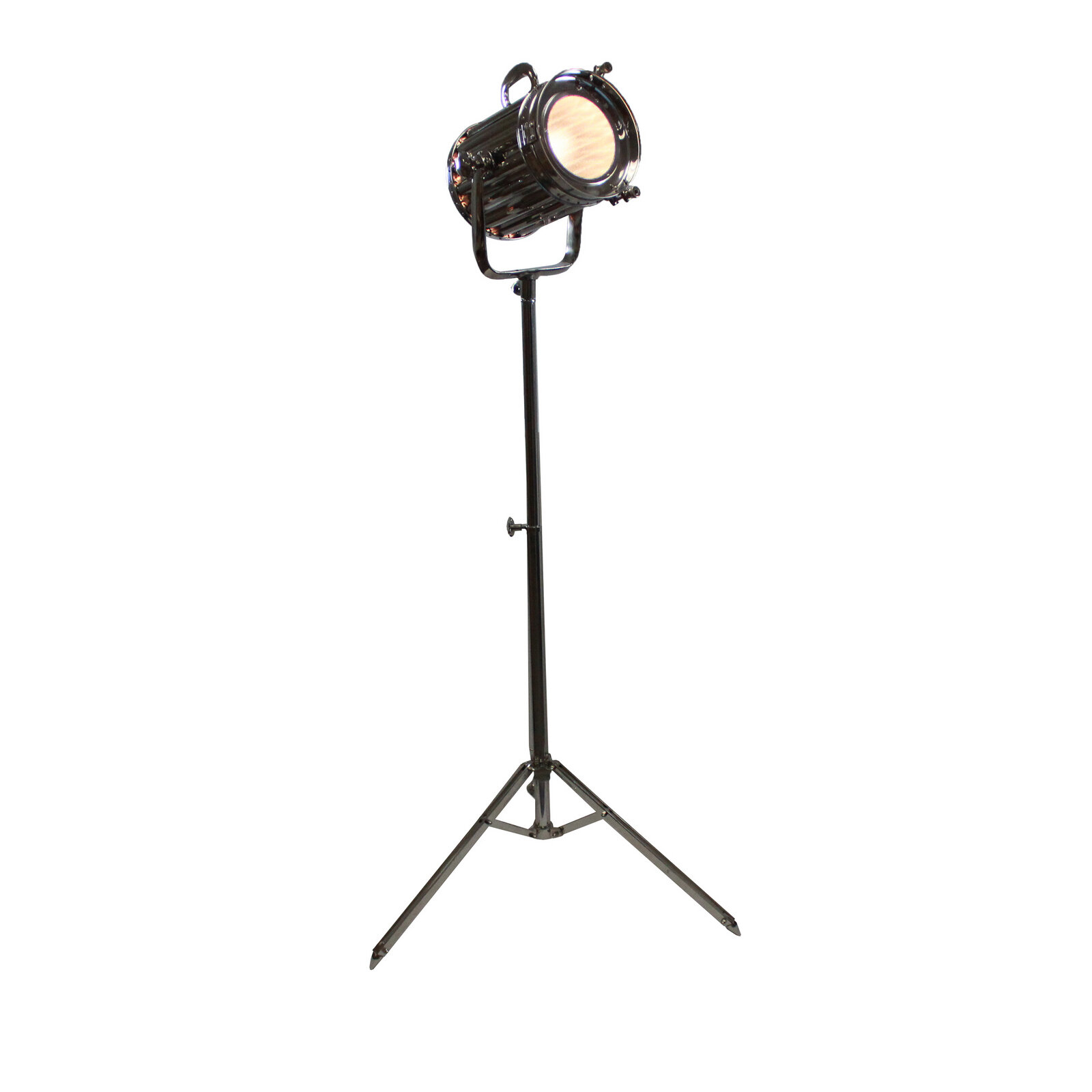 Details About 17 Stories Cruse Round Cinema Studio Spotlight 71 Led Tripod Floor Lamp in size 1600 X 1600