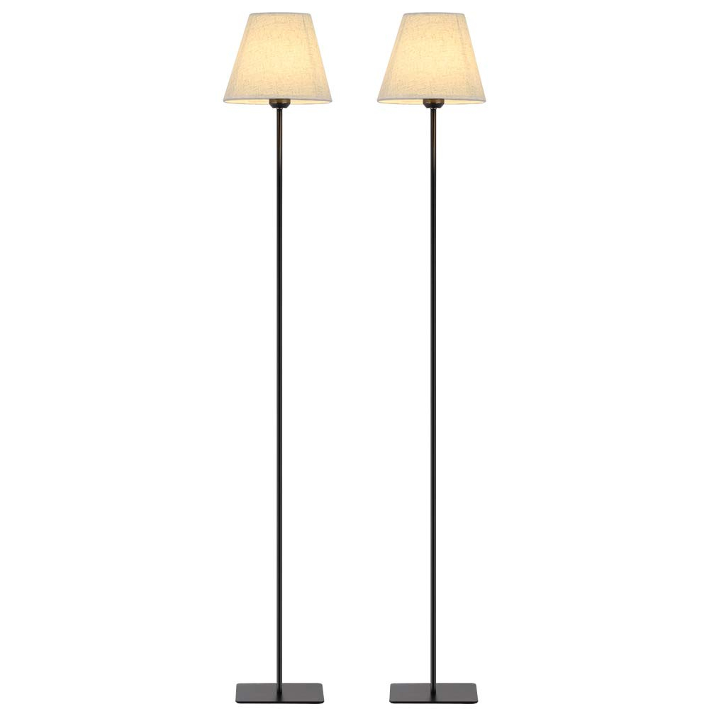 Haitral Set Of 2 Standing Floor Lamps Modern High Floor throughout size 1000 X 1000