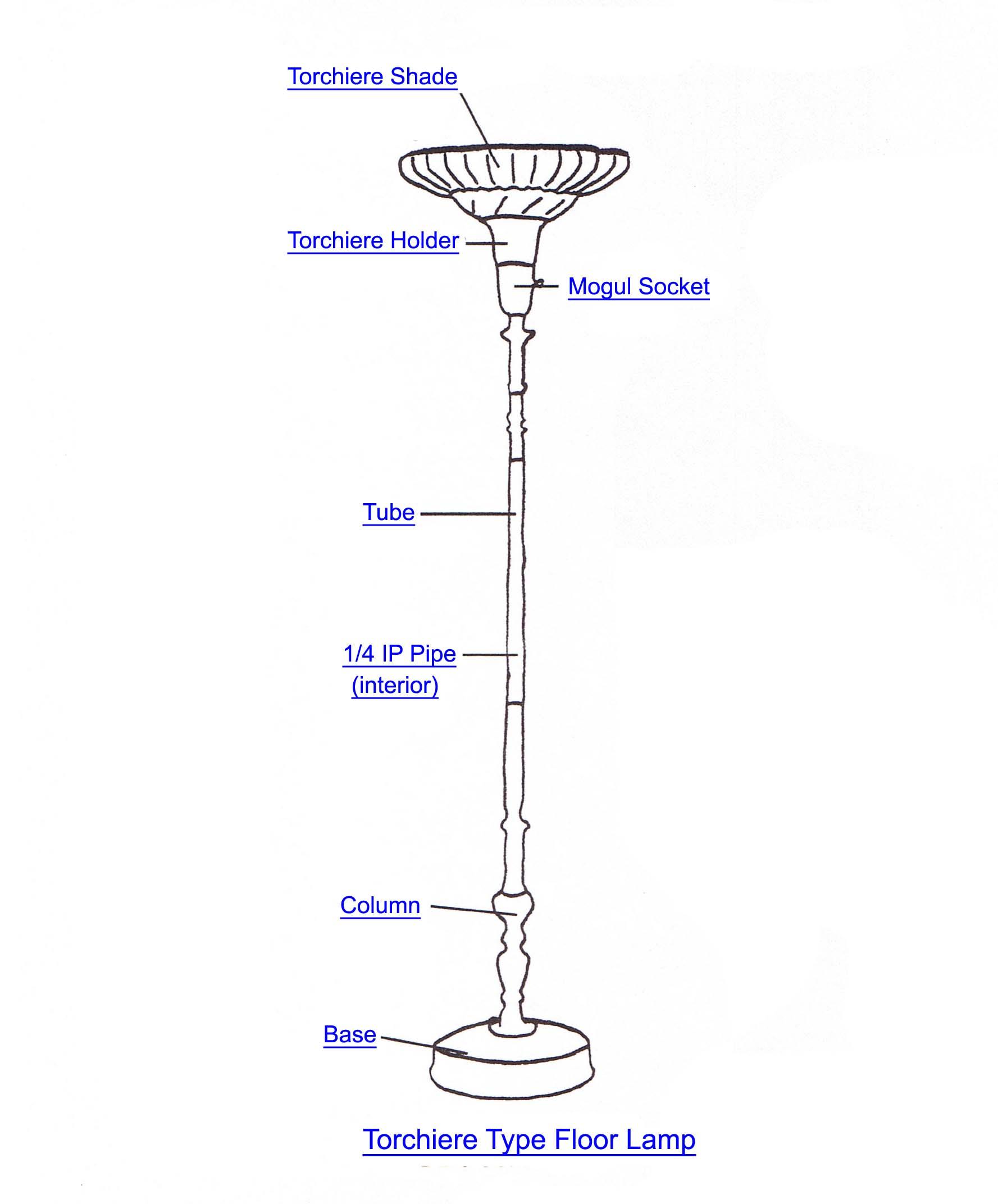 Floor Lamp Wiring Diagram  U2022 Cabinet Ideas