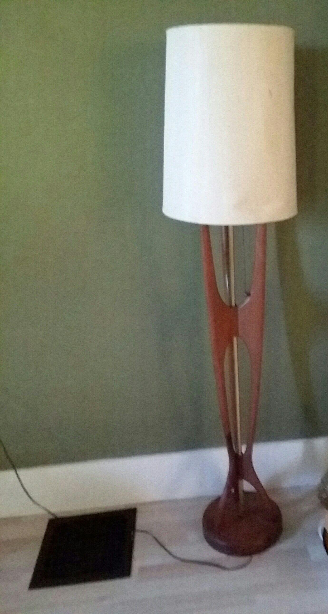 Mcm Teak Standing Floor Lamp Floor Standing Lamps Floor with regard to sizing 1380 X 2576