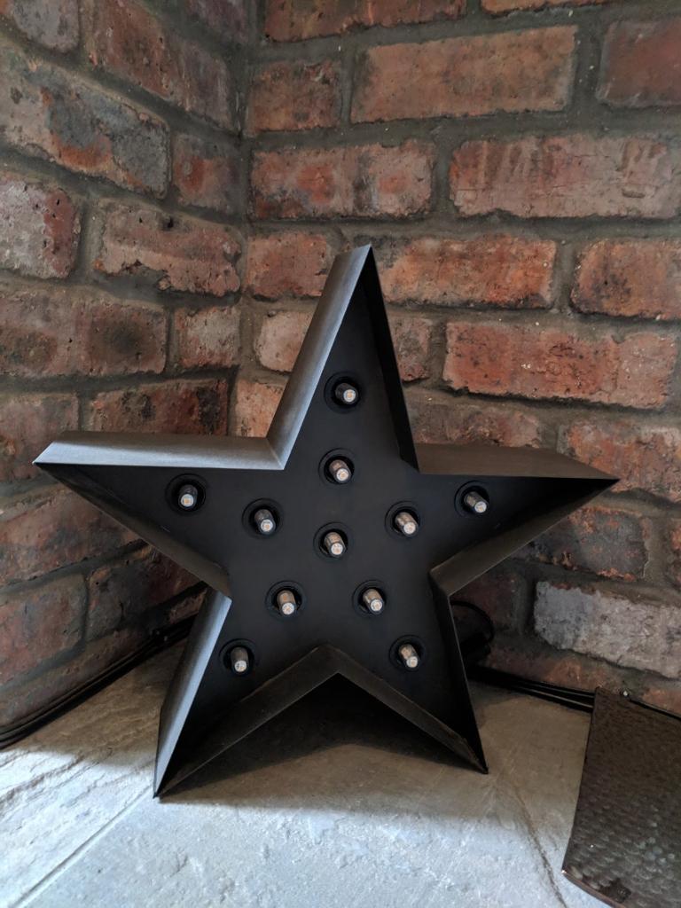 Metal Broadway Star Floor Lamp In Canton Cardiff Gumtree regarding measurements 768 X 1024
