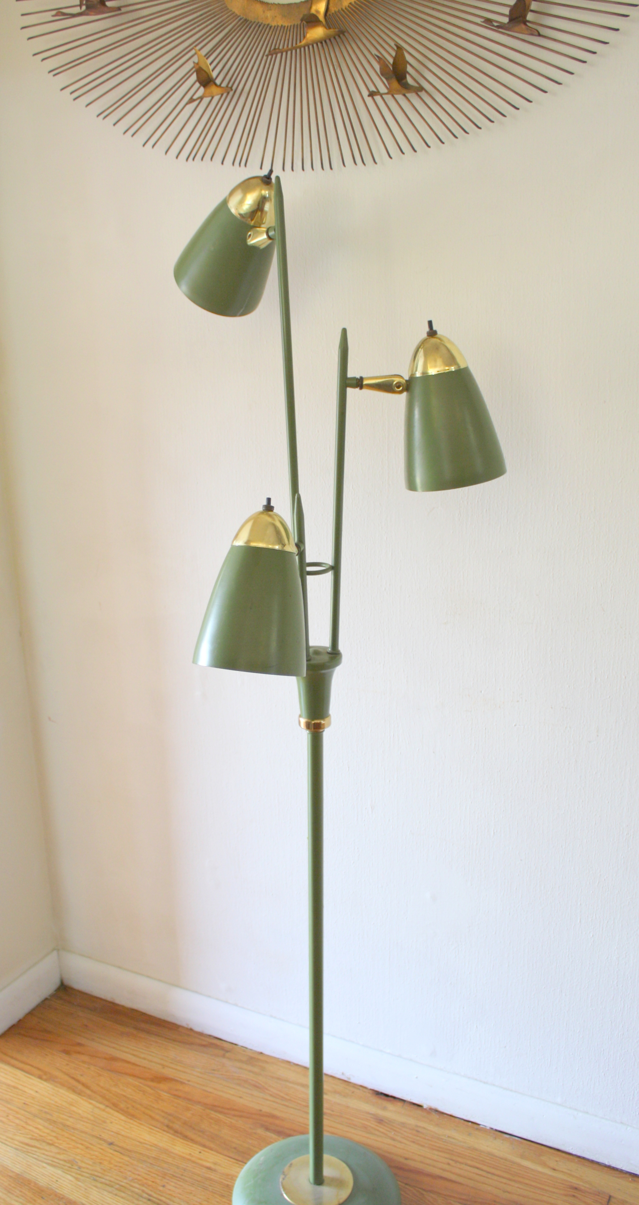 Mid Century Modern Bullet Floor Lamps Picked Vintage pertaining to sizing 2064 X 3888