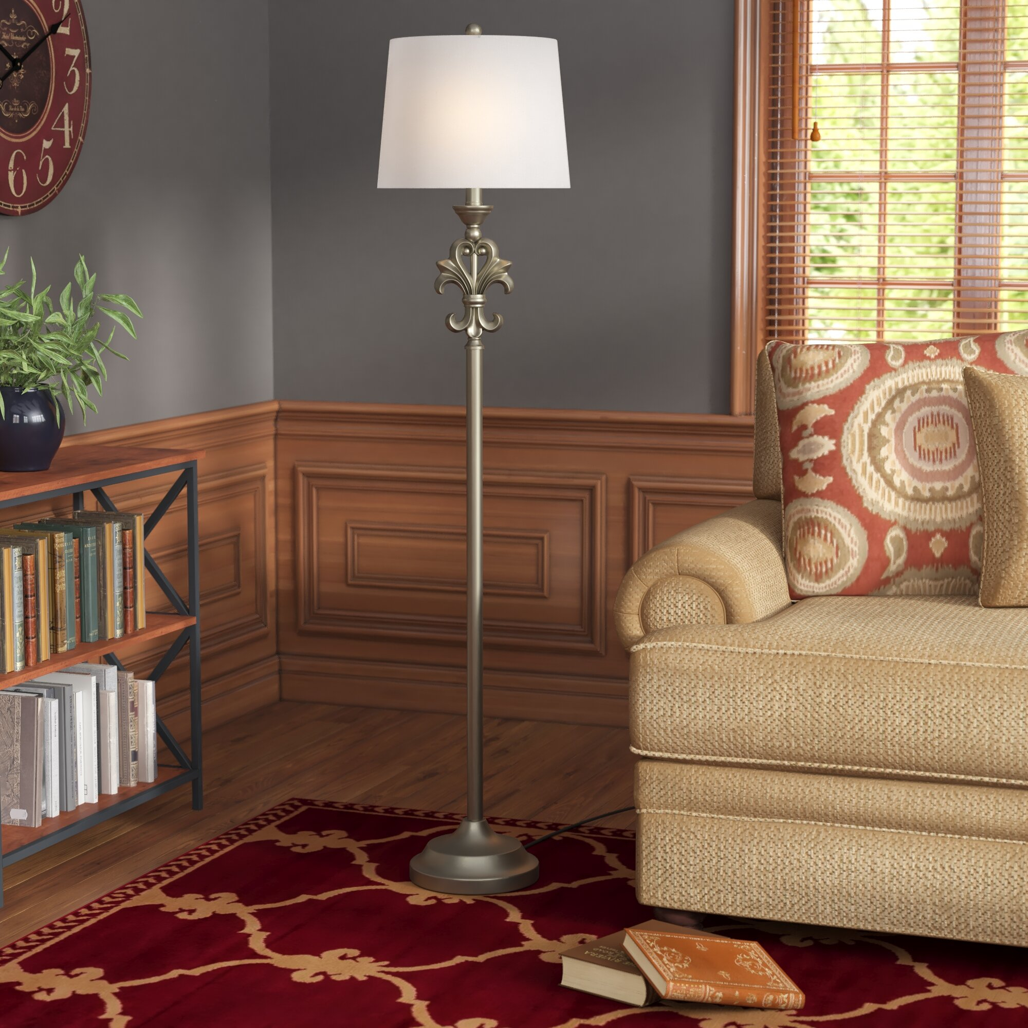 Natalie 605 Floor Lamp with dimensions 2000 X 2000