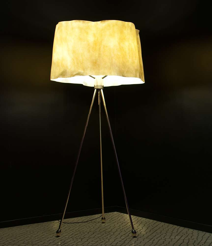 Ru Floor Lamp Desaive Design with proportions 863 X 1000