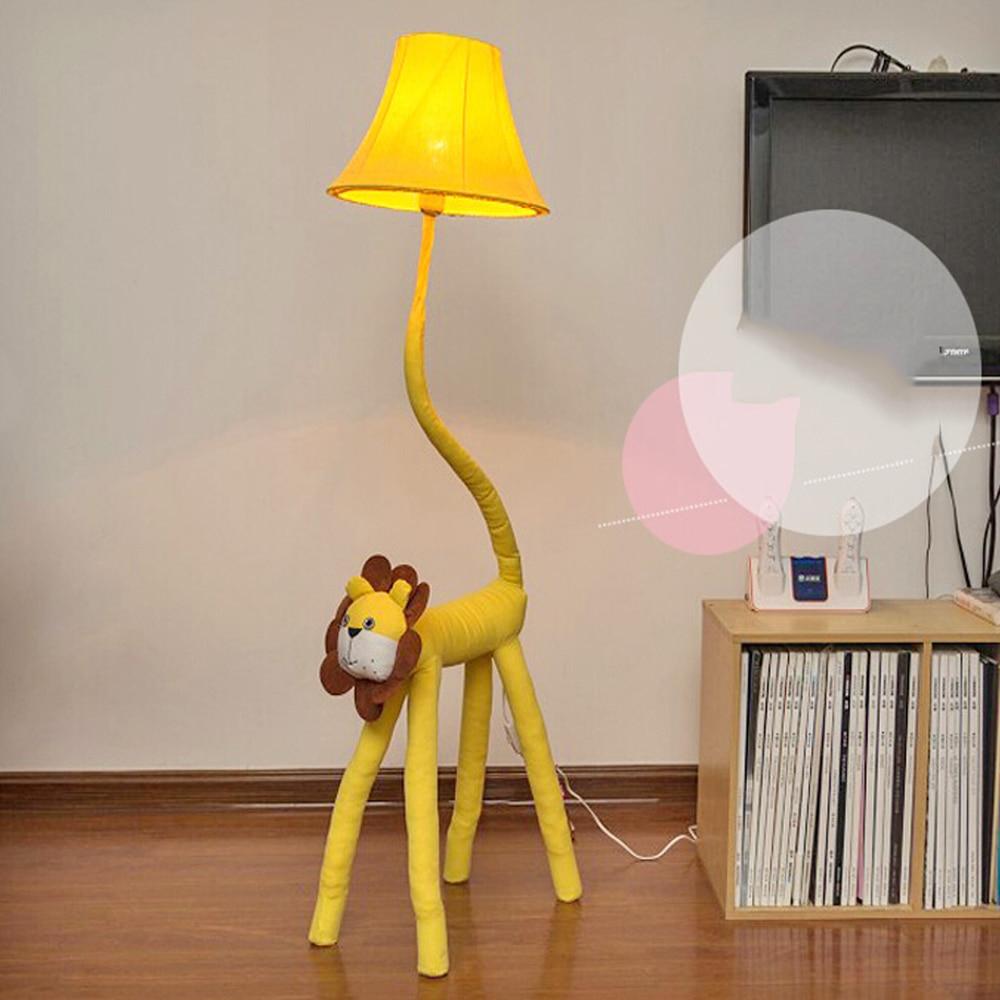 Top Fabric European Lighting Led Kids Floor Lamp 110v220v within proportions 1000 X 1000