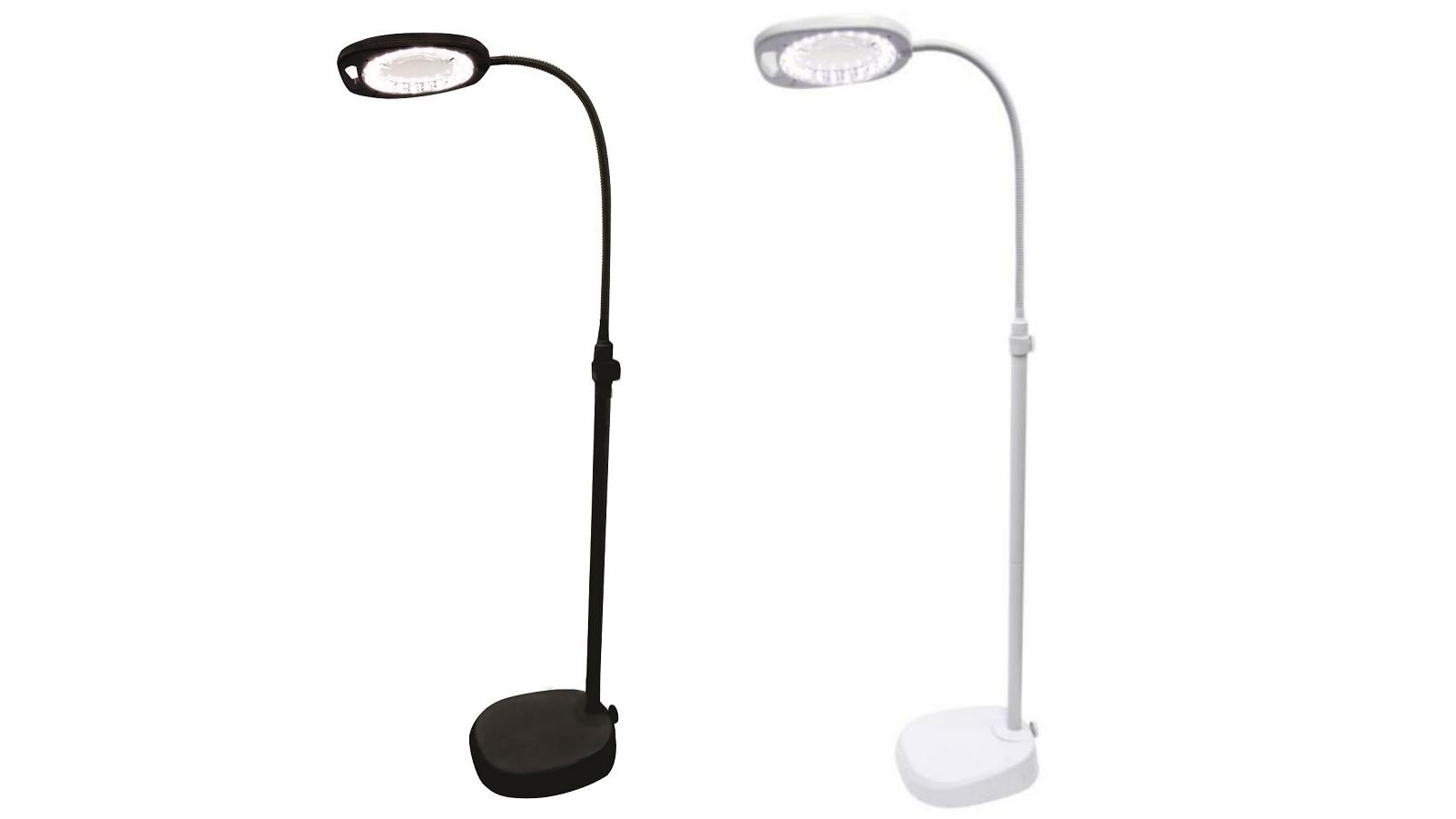 Triumph Led Magnifying Floor Lamp Cabinet Ideas
