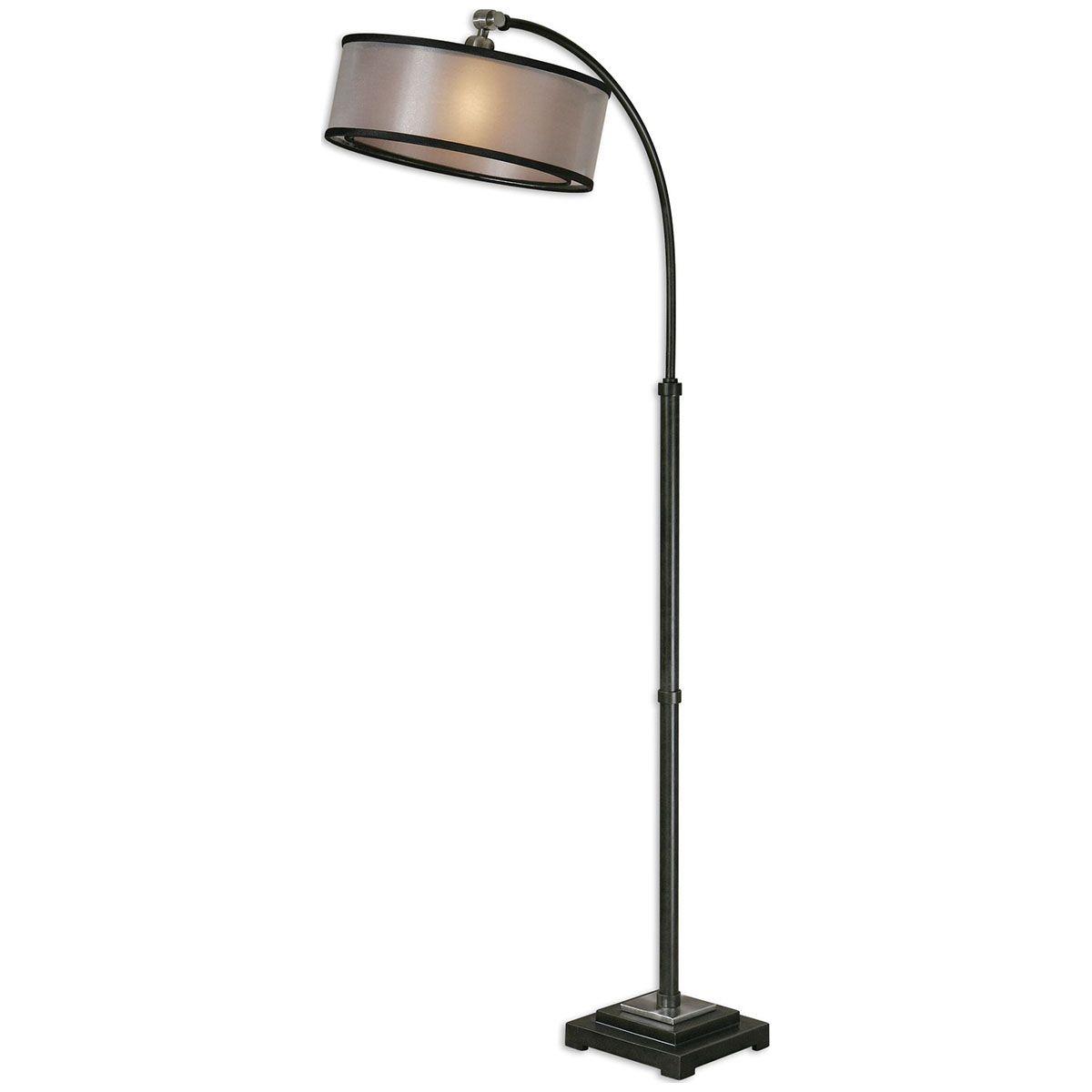 Uttermost Worland Arc Floor Lamp 28591 1 Arc Floor Lamps regarding sizing 1200 X 1200