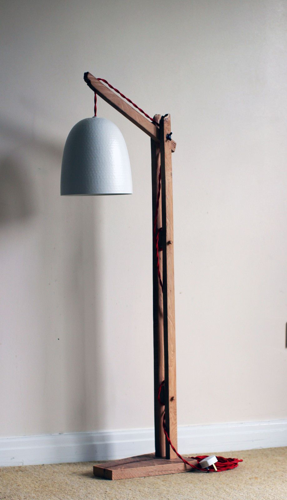 Vintage Wooden Stand Lampfloor Lamp Standing Furniture with regard to proportions 919 X 1600