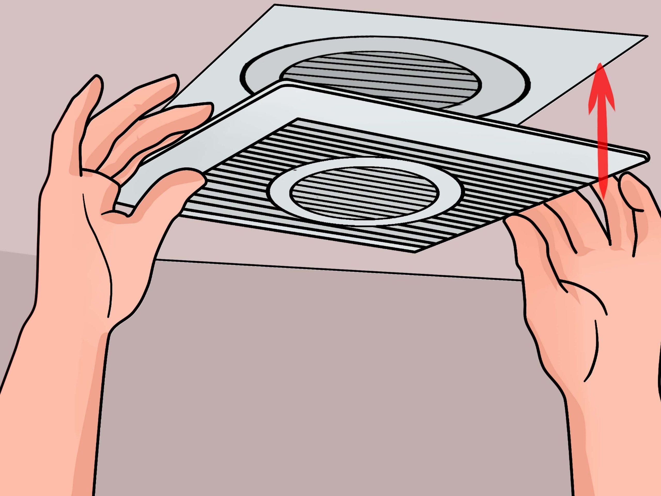 3 Manires De Installer Un Ventilateur De Salle De Bains inside proportions 3200 X 2400