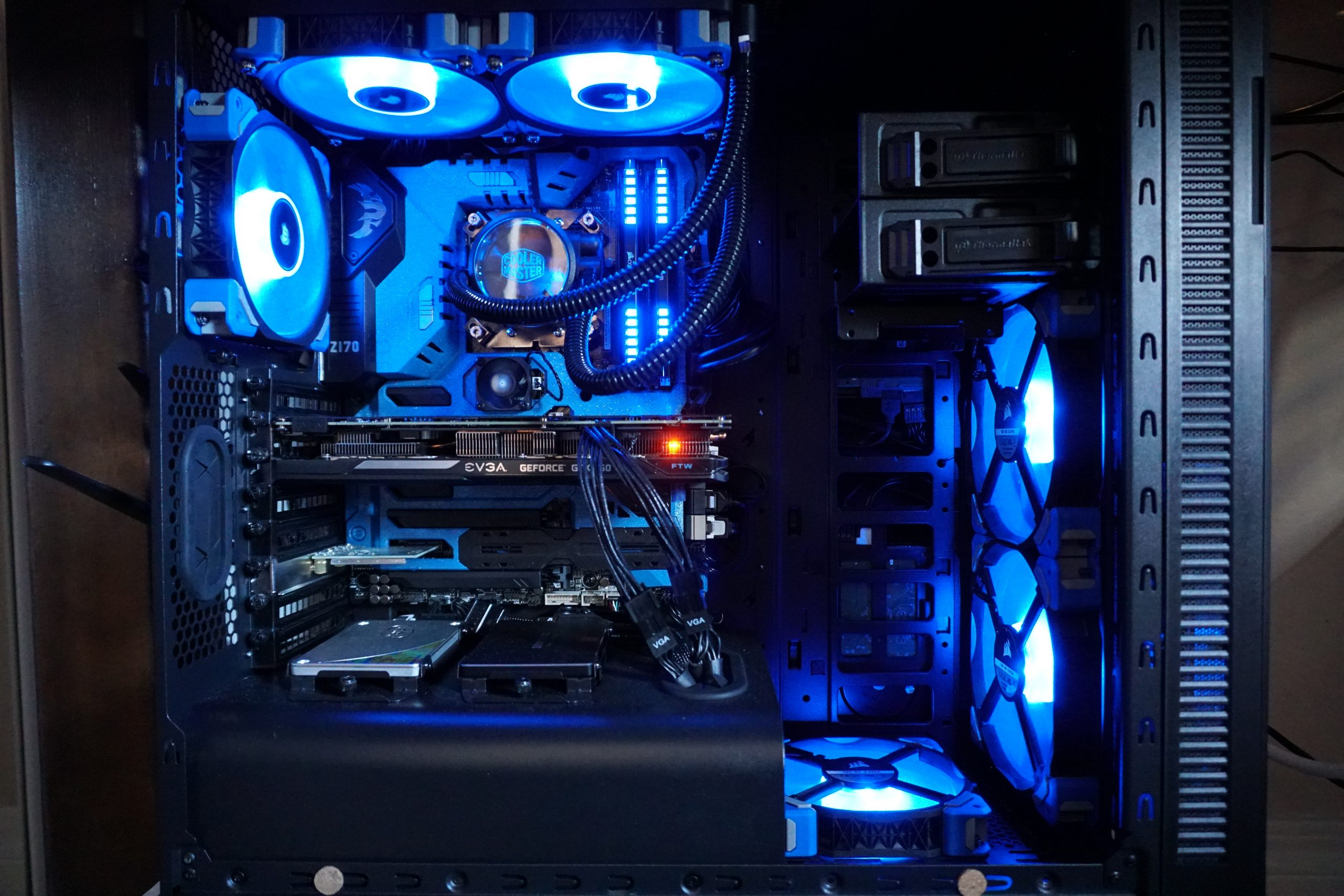 4 Fans Pull 1 Fan Push Good Idea Or No Liquid And pertaining to measurements 6000 X 4000