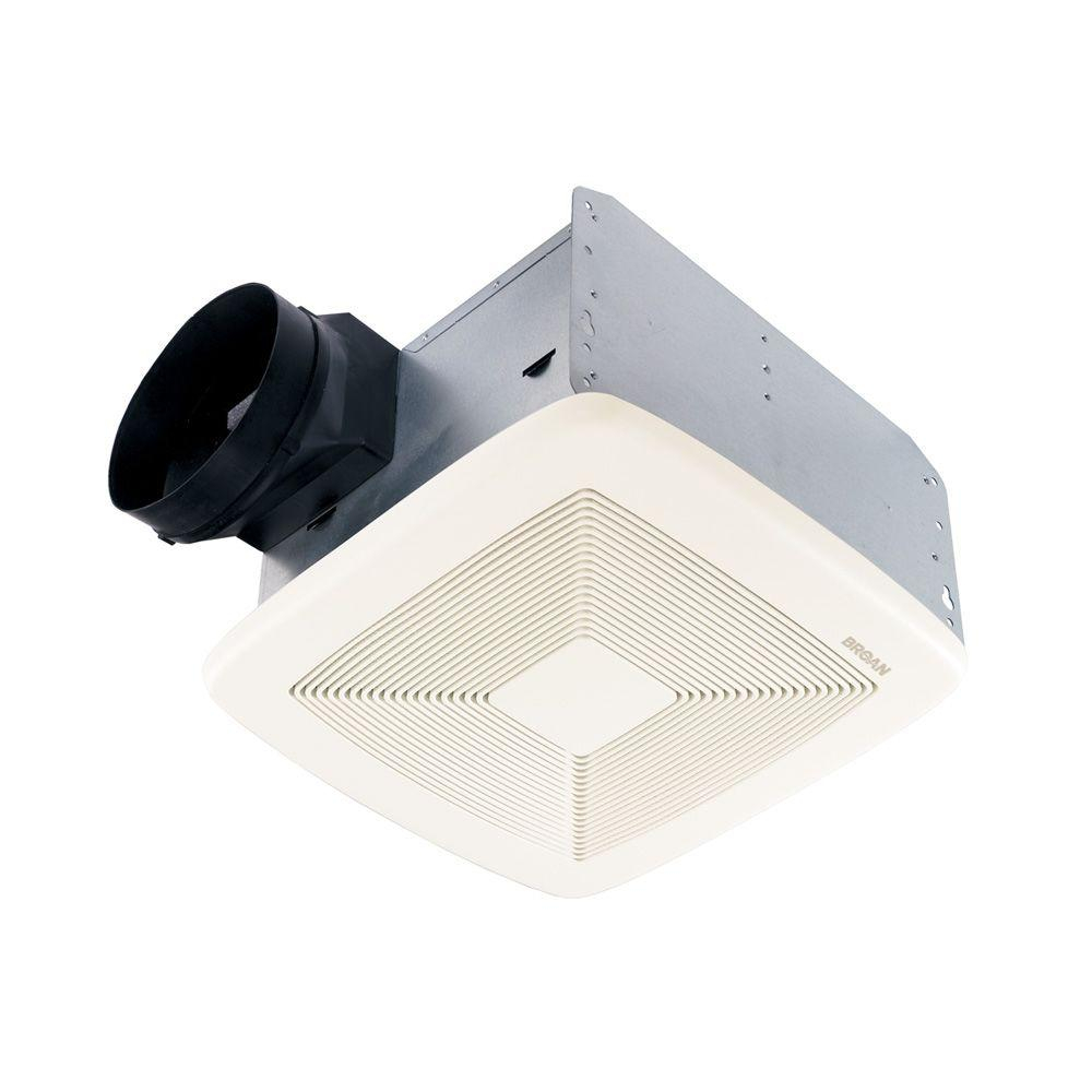 Broan Qt Series Very Quiet 80 Cfm Ceiling Bathroom Exhaust Fan Energy Star throughout sizing 1000 X 1000