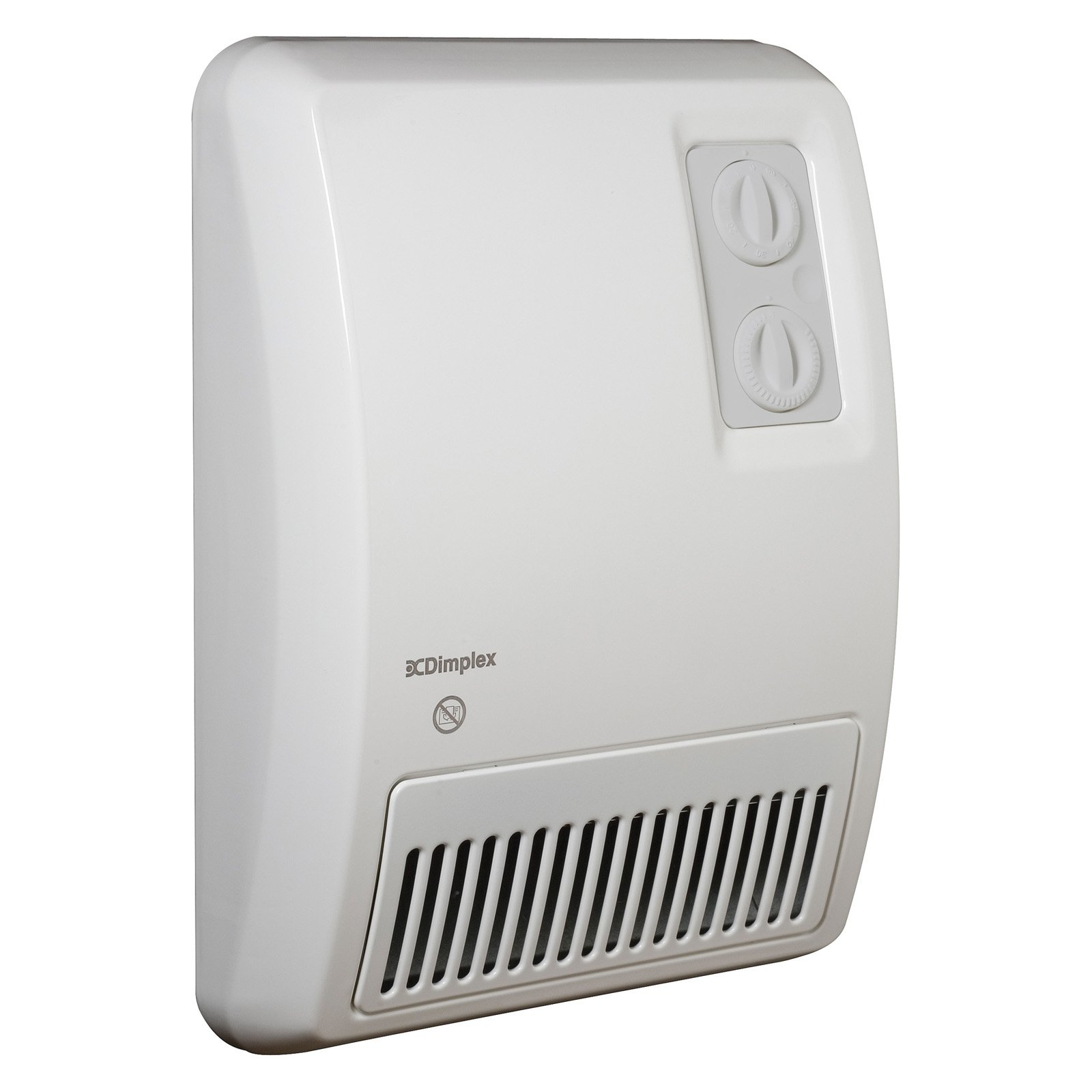 Dimplex Fan Forced Deluxe Wall Mounted Heater for sizing 1600 X 1600