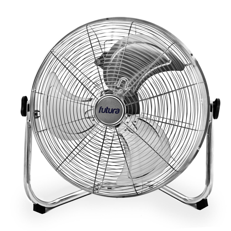 Electriq 18 Chrome High Velocity Floor Fan Fan Heaters inside sizing 1500 X 1500