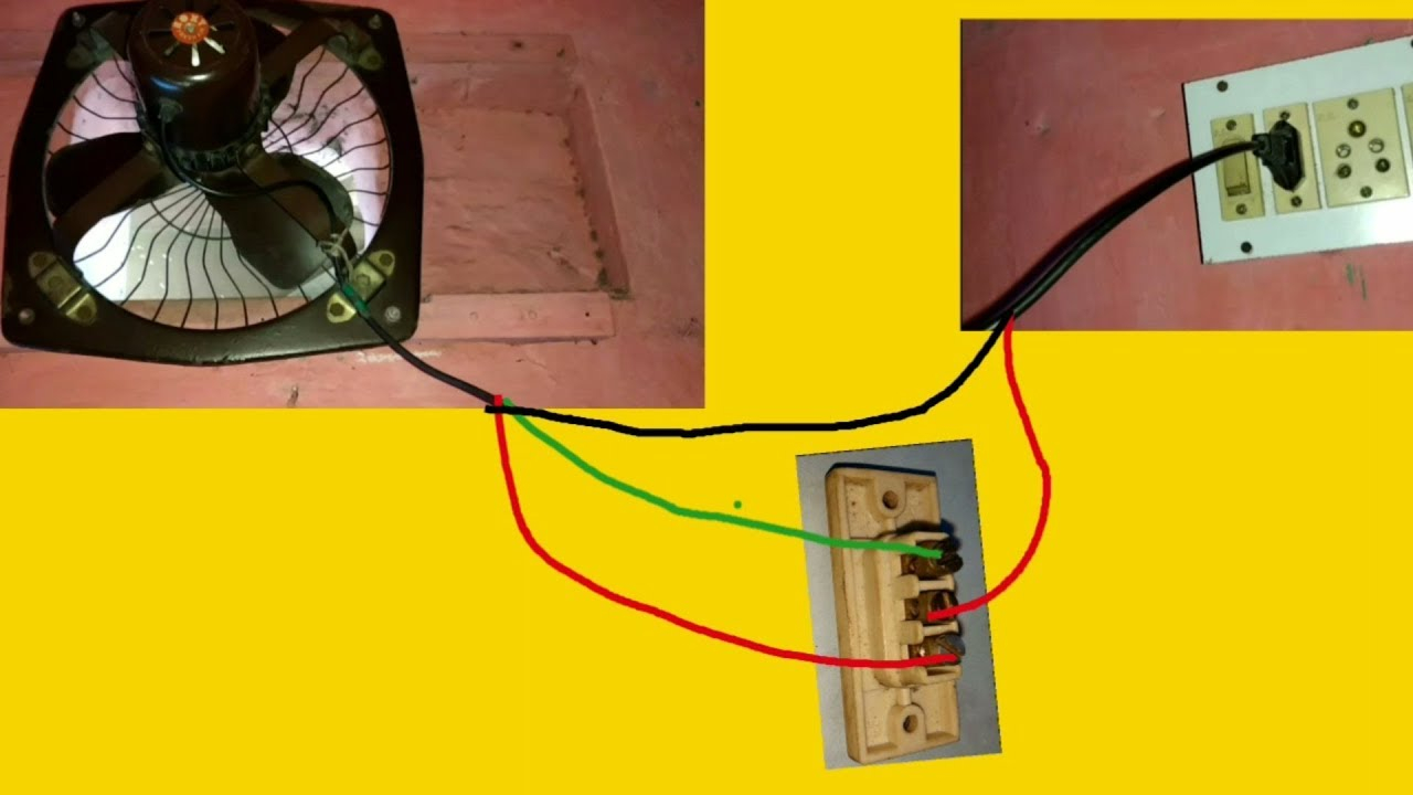 Wiring Connection Of Exhaust Fan  U2022 Cabinet Ideas