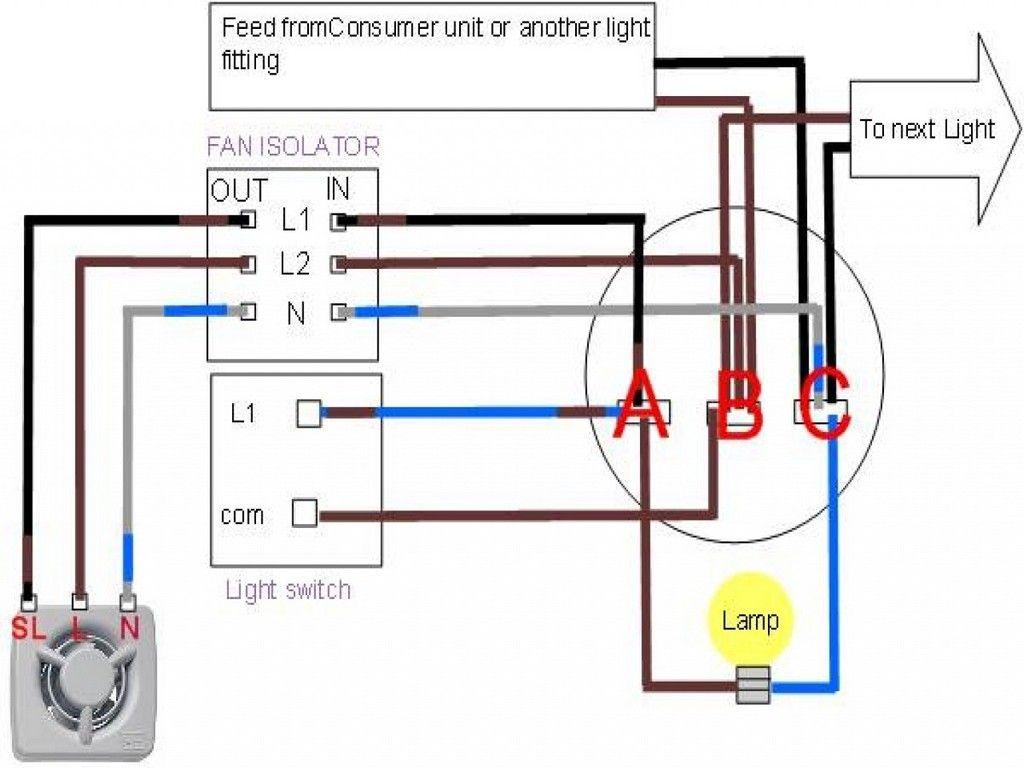Bathroom Exhaust Fan With Light Wiring Diagram  U2022 Cabinet Ideas
