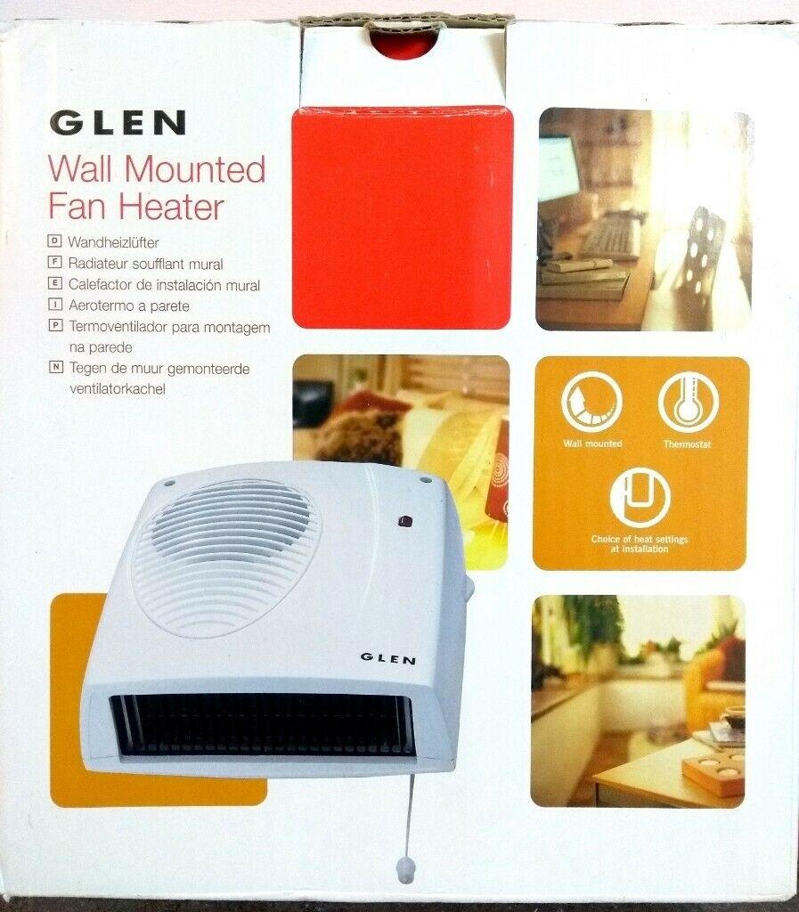 Glen Wall Mounted Fan Heater In Allestree Dershire Gumtree for measurements 897 X 1024