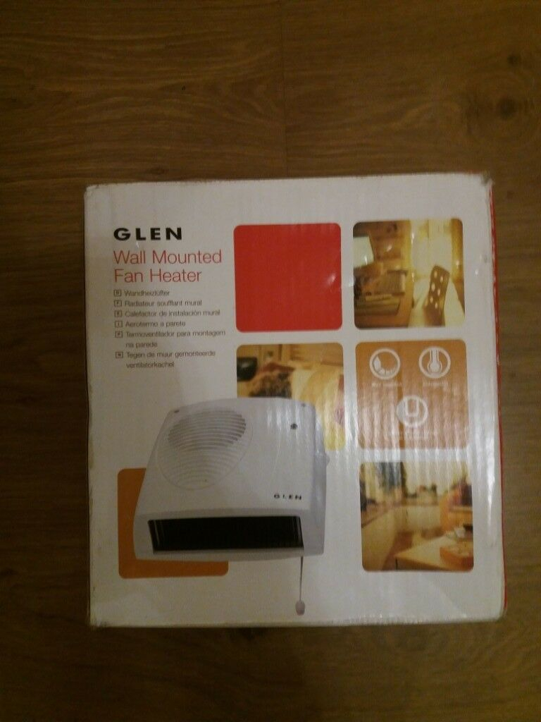 Glen Wall Mounted Fan Heater In Whitchurch Bristol Gumtree throughout size 768 X 1024