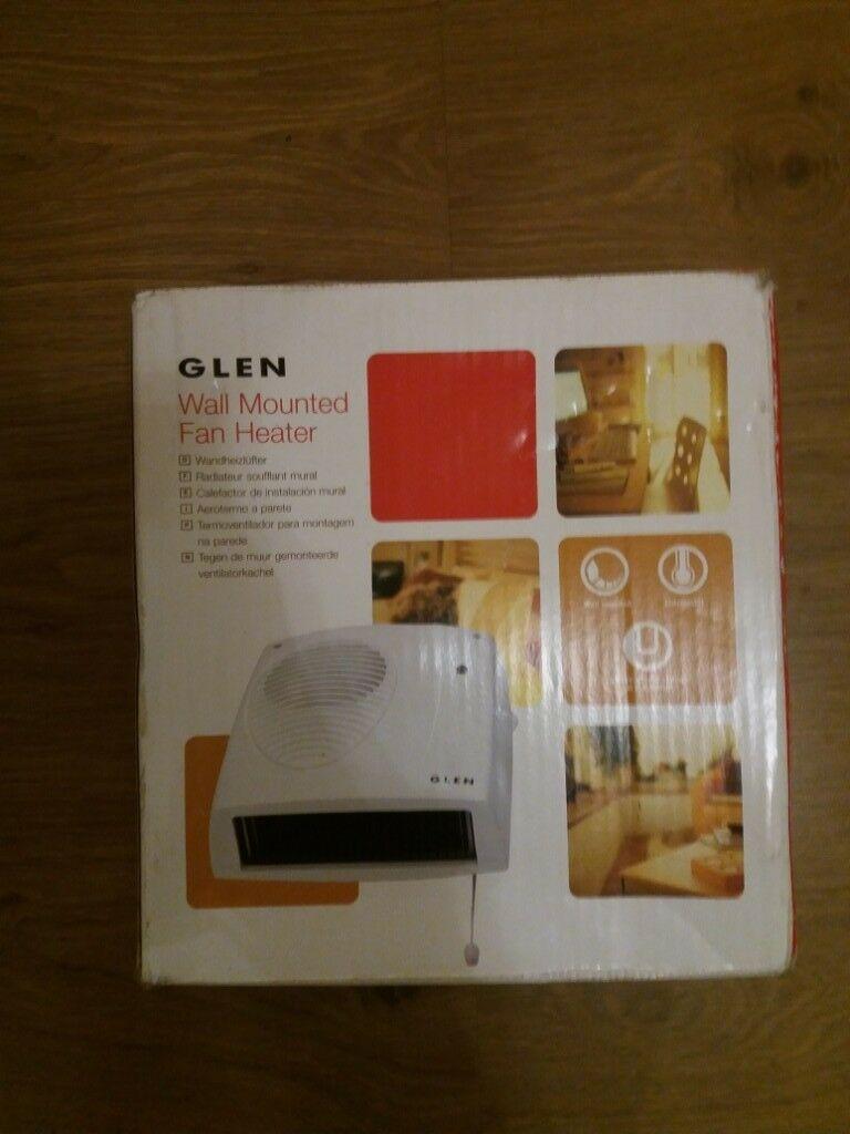 Glen Wall Mounted Fan Heater In Whitchurch Bristol Gumtree throughout size 768 X 1024