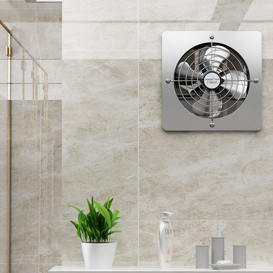 Household 10 Inch Exhaust Fan Kitchen Strong Power Fan Bathroom Ventilation Fan Silent Power Saving Ef08 within size 900 X 900