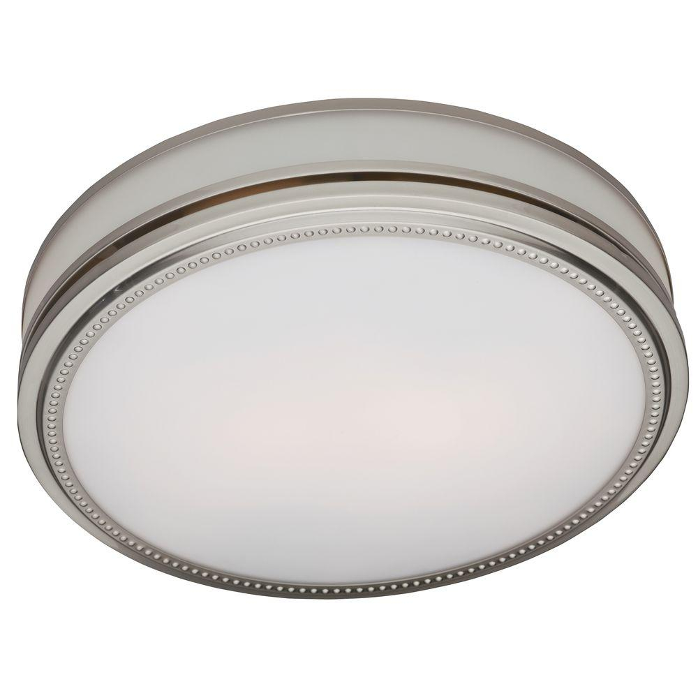 Hunter Riazzi Decorative 110 Cfm Ceiling Bath Fan With Cased Glass And Night Light throughout size 1000 X 1000