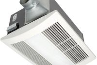 Panasonic Whisperwarm Lite 110 Cfm Ceiling Exhaust Fan With Light And Heater Quiet Energy Efficient And Easy To Install intended for measurements 1000 X 1000