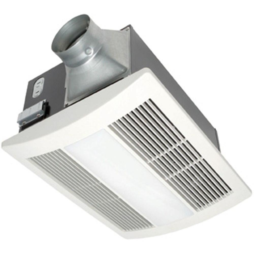 Panasonic Whisperwarm Lite 110 Cfm Ceiling Exhaust Fan With Light And Heater Quiet Energy Efficient And Easy To Install with sizing 1000 X 1000