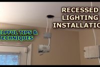 Recessed Lighting Installation for size 1280 X 720