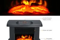 Us 3146 38 Off1000w Desktop Electric Fireplace Heater With Log Flame Effect Warm Air Heater Warm Small Warm Air Blower Fan Table Heater intended for dimensions 1500 X 1500